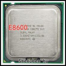 Intel Core 2 Duo E8600 SRB9L procesador 3,33 Ghz 6M 1333MHz Socket 775 CPU
