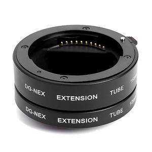 Image 4 - Professionele Macro Extension Tube Kit Metal Autofocus Set 10mm 16mm Lenzen Accessoires voor Sony NEX E Mount camera
