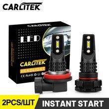 CARLITEK H7 H8 H10 H11 Levaram Luzes de Nevoeiro HB4 9006 HB3 9005 Lâmpadas Lâmpadas Mini T20 PSX24W PY24W 9012 H16 P13W 12V 24V Acessórios Do Carro