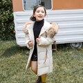 -30 grad Mädchen kleidung warme Unten jacke für mädchen kleidung 2019 Winter Verdicken Parka echtpelz Mit Kapuze Kinder Oberbekleidung mäntel
