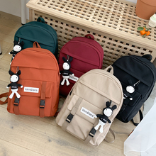 Fashion Female Backpack Women Multi-pocket Large Capacity Backpack College Style Girl School Bags Casual Waterproof Backpack
