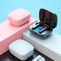 Bluetooth Headset Sport Outdoor Bluetooth 5,0 kopfhörer kopfhörer Led-anzeige mit mic Lade Box 9D Wasserdichte Drahtlose