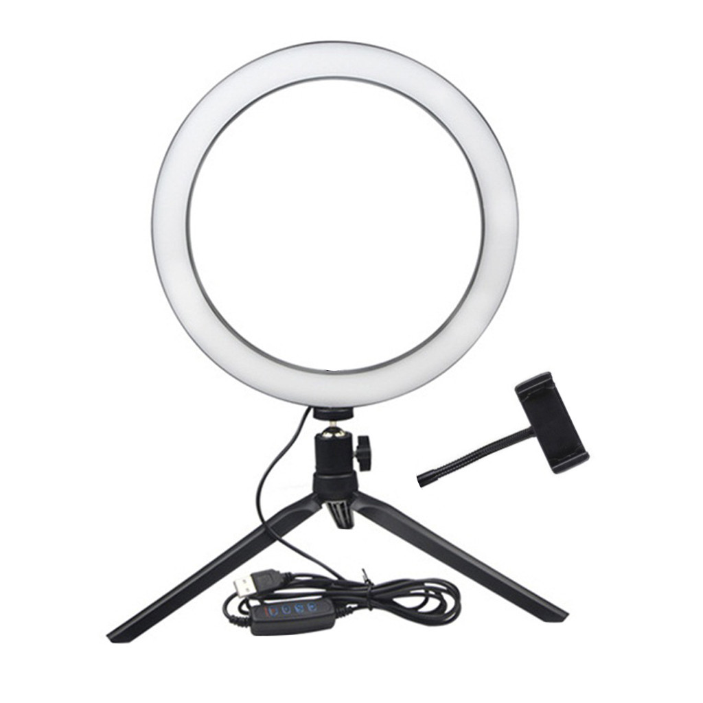cheapest Selfie bluetooth fill light phone LED Ring Light Photo Camera Photography Dimmable Video for Youtube Makeup Tripod Phone Holder