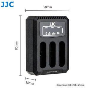 Image 5 - JJC USB Triple Battery Charger for Ricoh GRIII WG6 Olympus Tough TG6 TG5 TG4 TG3 TG2 TG1 Cameras for Ricoh DB 110 Olympus LI 90B