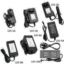 Zasilacz 12 V 5V zasilacz 5 12 V 1A 3A 5A 6A 5V zasilacz uniwersalny przełączanie transformatory oświetleniowe do lampy LED