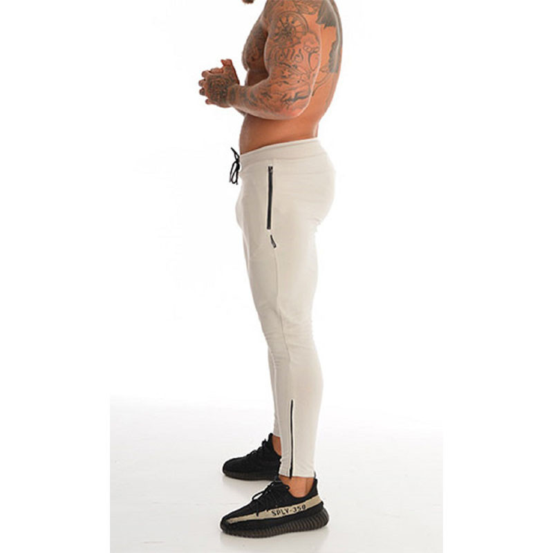 Men Pants Cotton Men's Sporting Workout Fitness Pants Casual Fashion Sweatpants High Quality Jogger Pant Skinny Trousers