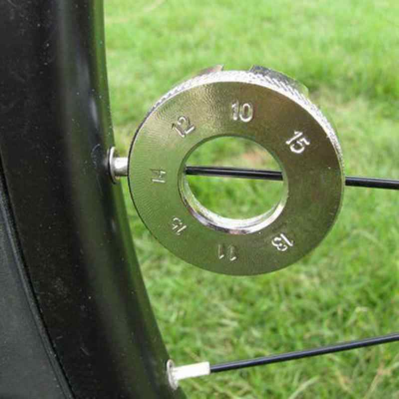 8-Way Spoke Spanner Bicycle Repair Tool Key Wrench Wheel Rim Tightener for Bike