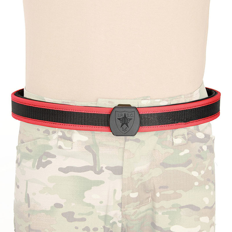 Tactical Utility IPSC Belt Size M L XL(black Red Blue Yellow)