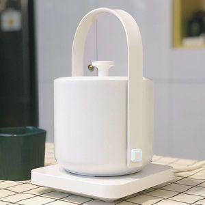 Image 5 - XiaoTi bouilloire électrique rétro 600ml en acier inoxydable, nouvelle bouilloire électrique commerciale, 1200W, belle bouilloire