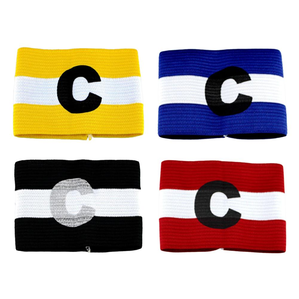 1PCs Colored Football Captain Armband Team Armband Bracelet Group Cuff Soccer Arm Band Unisex For Outdoor Football Training