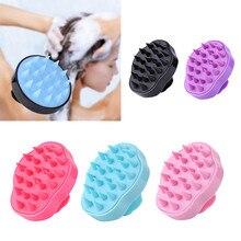 Comb Massage-Brush Shampoo Hair-Washing-Comb Bath Head-Body Scalp Spa Silicone Slimming
