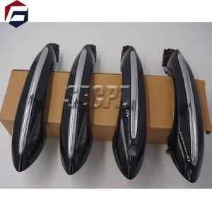 Image 1 - Colore nero con la comodità di accesso maniglia della porta per BMW 5 serie F11 520d 520i 523i 525d 528i 530d 51217231931 51217231932 51217231