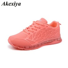 sneakers women crystal sole air cushion running shoes fashion rubber flats platf