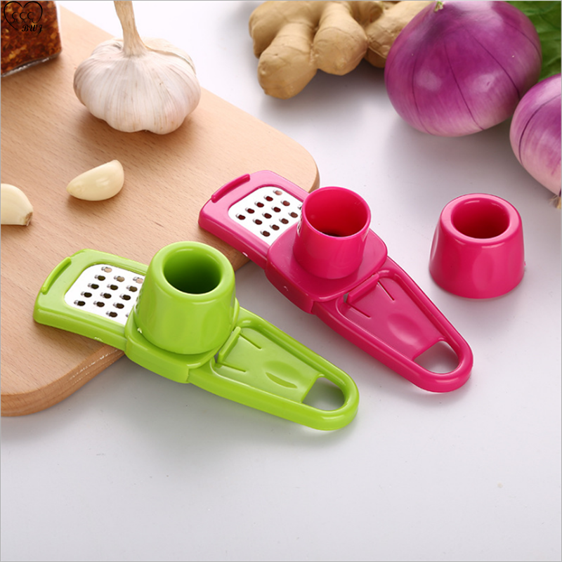 Multifunctional Garlic Grinder Creative Garlic Cutter Kitchen Garlic Stirrer Garlic Grinder Kitchen Tools Grater Kitchen Tools8z