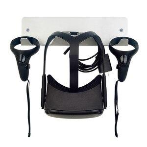 Image 3 - جدار جبل حامل ل Oculus الصدع/الصدع S/كويست سماعات VR تخزين حامل ل HTC فيف/فيف برو للبلاي ستيشن VR اكسسوارات