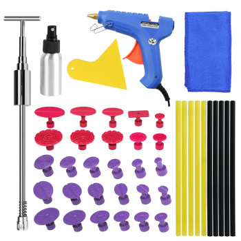 pdr  Tools Kit Dent Removal Paintless Dent Repair Tools Car Dent Repair Straightening Dents Instruments car dents repair removal garage tools induction heating auto bodywork dent and ding repair remove diy kit straightening dents