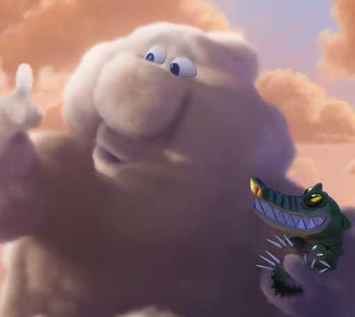 暴力云与送子鹳 Partly Cloudy