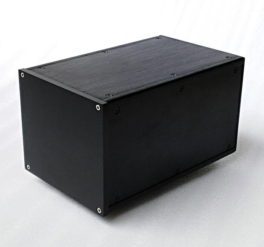 Chasis de fuente de alimentación estándar europeo de aluminio multiusos 160x140x251mm, caja transformadora de chasis de vaca aislada