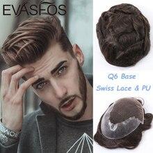 Hand Gebunden Indien Remy Haar Männer System Alle Farbe Spitze Toupet Haarteil 120% Dichte Gebleichte Knoten Schweizer Spitze Haar Stück für Männer