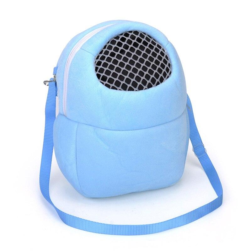 Bolsa de transporte para animais, bolsa fofa para carregar coelho com gaiola chinchila, bolsa de viagem quente para carregar porco