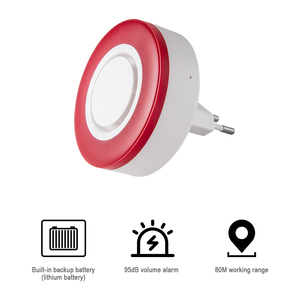 Image 2 - Heiman Z Wave Sirene Alarm Flash Strobe Light Zwave Sound Speaker 95dB Voor Z Wave Smart Home Security Inbreker systeem