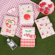 Minkys a5 a6 kawaii cherry baby pu Обложка 2021 журнал блокнот