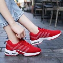 Damyuan 2019 nuevo estilo de invierno aumenta la moda de las mujeres zapatillas de deporte de comodidad al aire libre recreativos zapatos de correr acolchados al aire libre