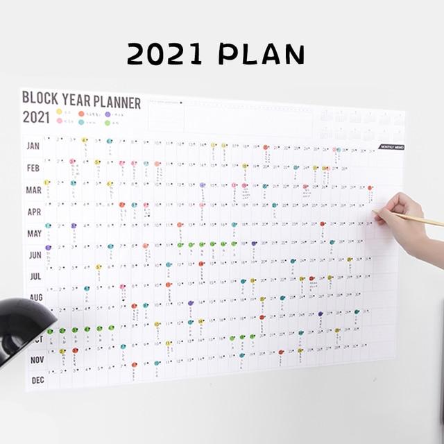 Business Accessories & Gadgets Office Calendar & Planner Annual Calendar Planner