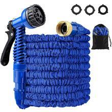 Garden-Hose Spray-Guns Watering Telescopic Outdoor Plastic 25FT-100FT Metal Magic Flexible