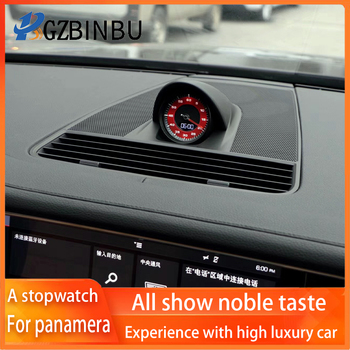 For panamera A stopwatch 971 Electronic clock cover a compass panamera971 A stopwatch compass Car dashboard console a stopwatch