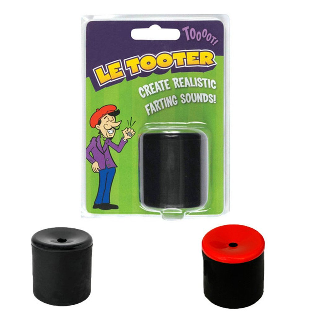 Track Toy Tooter Create Farting Sounds Fart Pooter Prank Joke Machine Party Halloween HOT