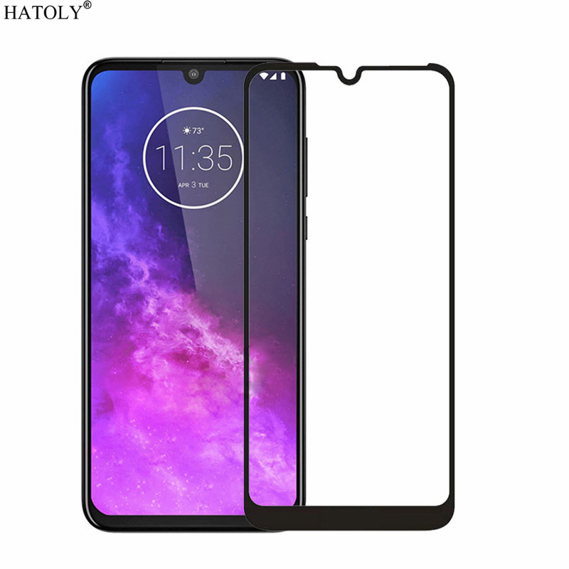 2PCS Tempered Glass For Motorola Moto One Zoom Screen Protector Moto One Pro Full Cover For Moto One Zoom 3D Curved Edge Film