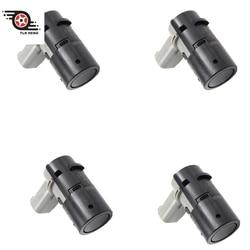 Nova traseira pdc estacionamento sensor radar estacionamento detector 4 pces para bmw e65 e66 730 735 740 745 750 760 2002-2005 66202184264