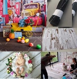Image 3 - Gumowa podłoga zdjęcie tło Vintage drewno noworodka portret dziecka fotografia tło antypoślizgowa mata gumowa sesja zdjęciowa