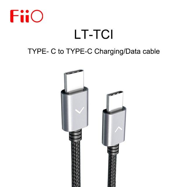 FiiO LT TC1 タイプ C にタイプ C 用のデータ充電ケーブル M15/M11/M5/M6 /BTR5/BTR3 音楽 MP3 プレーヤーアンプ