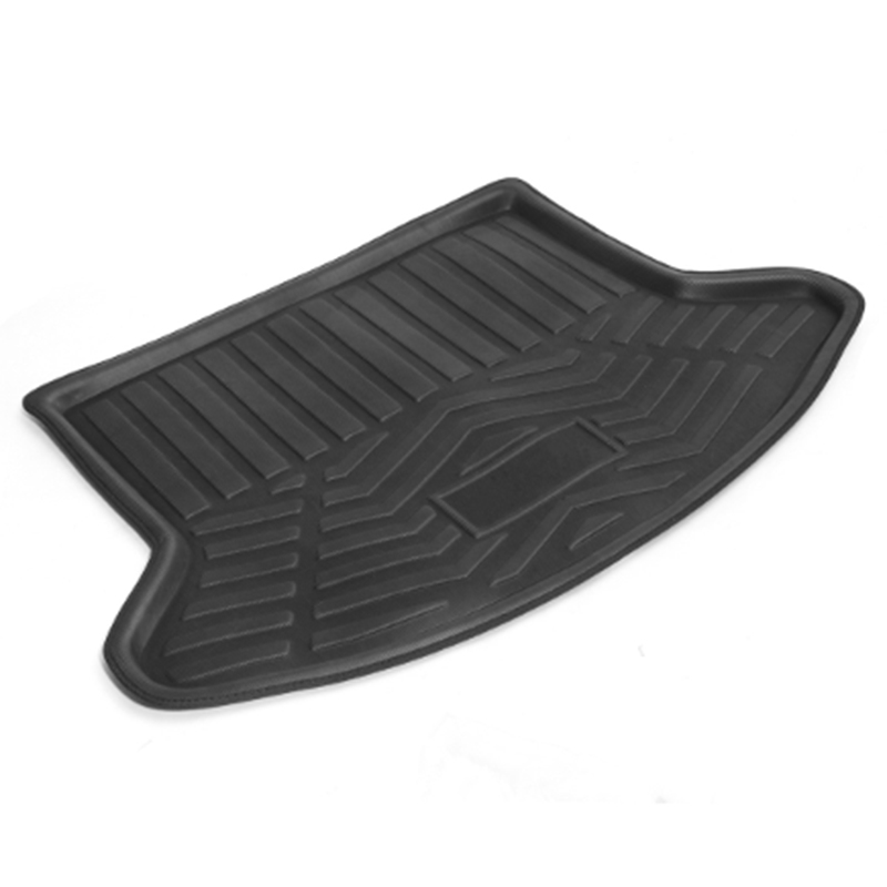 Car Rear Trunk Cargo Mat Tray Floor Boot Carpet For Mazda /CX-5 2013 2014 2015 2016 Black