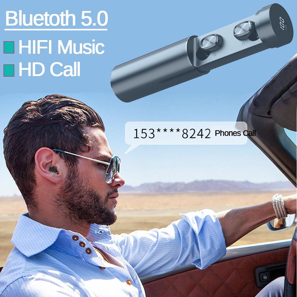 B9 TWS Bluetooth Earphone 5.0 Wireless 8D HIFI 3