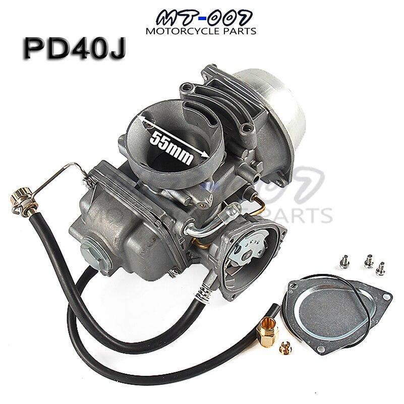 Карбюратор PD40J для Polaris Sportsman 500, КАРБЮРАТОР 4X4, универсальный, другие, от 400cc до 600cc 2001-2013