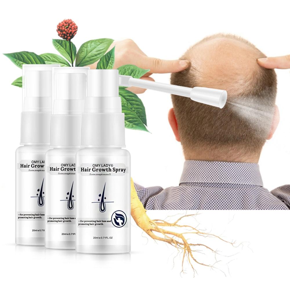 Anti Hair Loss Hair Growth Spray Essential Oil Liquid Hair Care Damaged Hair Repair Treatment Men Women Dry Hair Care Product