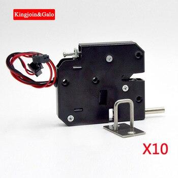 10pcs Top Hot sale simply 12v magnetic cabinet lock,logistic locker lock Cabinet storage lock door lock smart lock electric lock logistic management