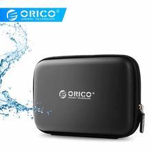 Orico черная PHB-25-BK сумка для хранения внешняя портативная защитная сумка с Неопреном для 2,5 дюймов мобильный корпус для жесткого диска