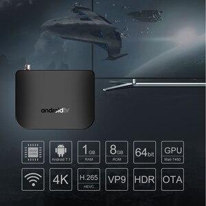 Image 3 - VONTAR DVB S2 Smart TV Box Android 7.1 Amlogic S905D Quad Core 1GB 8GB 1080p 4K 30fps Youtube Google Play Store MECOOL M8S PLUS