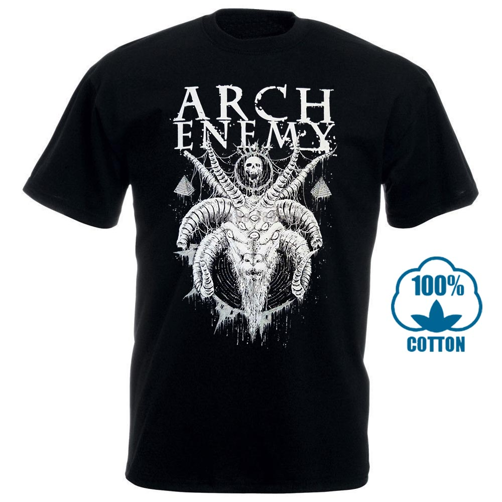 Arch Enemy Horned Goat Shirt S M L Xl Xxl Officl Death Metal T Shirt Band Tshirt