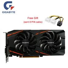 Игровая графическая карта GIGABYTE RX580, 8 ГБ, для AMD GDDR5, 256 бит, PCI, для настольных игр