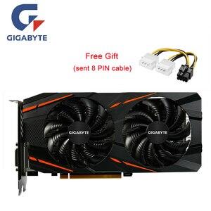 Image 1 - Игровая графическая карта GIGABYTE RX580, 8 ГБ, для AMD GDDR5, 256 бит, PCI, для настольных игр
