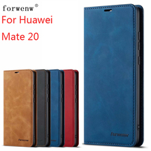 For Huawei Mate 20 Case Magnetic Phone Cover Wallet Flip Leather Stand
