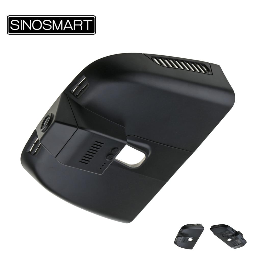 SINOSMART-caméra voiture WiFi DVR   Novatek 96658 pour Mercedes Benz Vito V260 V, application commande 1080P SONY IMX323