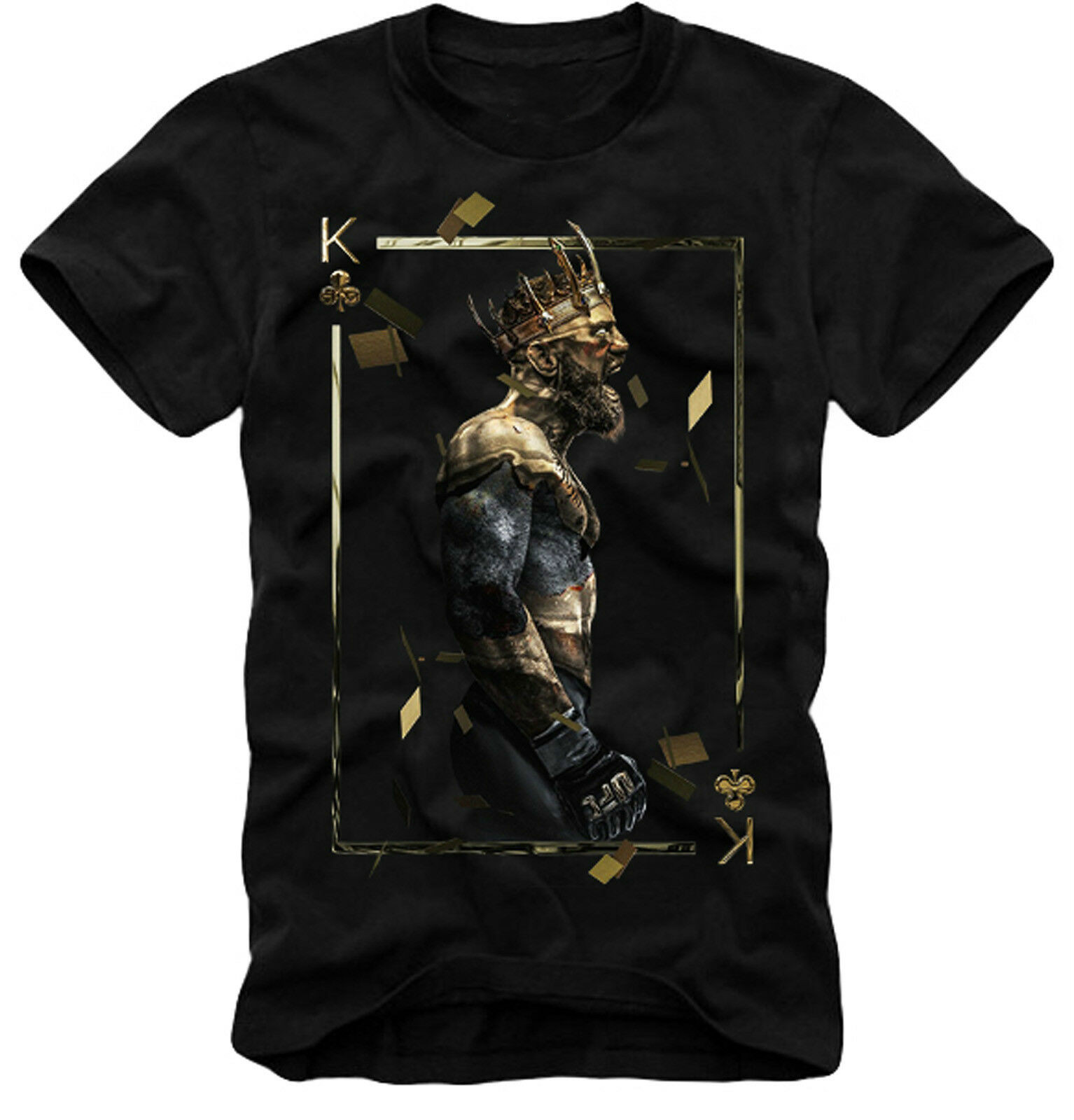 Conor McGregor MMA Champion Of Kings Unisex T SHIRT