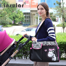 цены на Infant Diaper Bags Nappy Bag Fashion Baby Car Bag Nappy Mother Shoulder High Quality For Care Maternity Mom Backpack  в интернет-магазинах