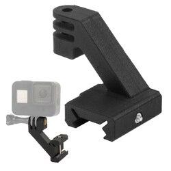 FEICHAO-adaptador de carril para cámara de acción, montaje de cámara lateral para adaptador de riel Picatinny para Gopro SJCAM para OSMO